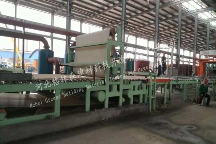 High Capacity Mineral Fiber Board Production Line Building Materials Machinery